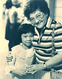 Jean Kwok With Her Teacher