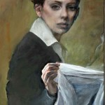 Judith Peck, oil painter, Washington D.C.
