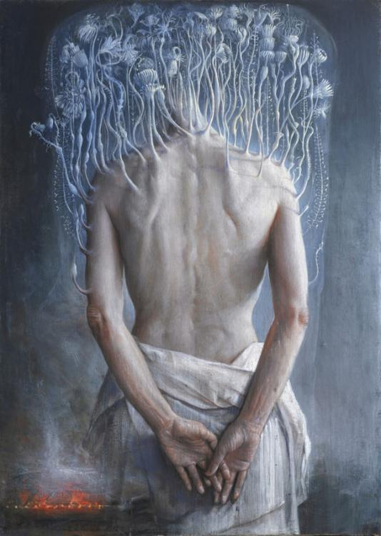 Martyrium. S.Dorotea Oil on linen cm 70x50