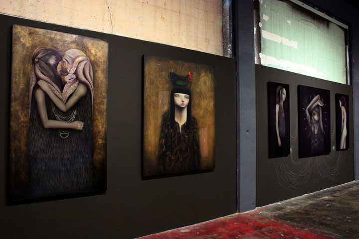 Dante Horoiwa, solo show at the Anno Domini Gallery, San Jose, California