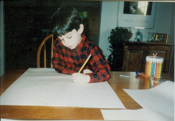 Jason Bard Yamosky as a boy