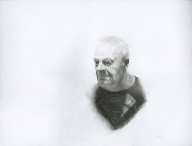"""Len as Superman,"" Jason Bard Yarmosky"