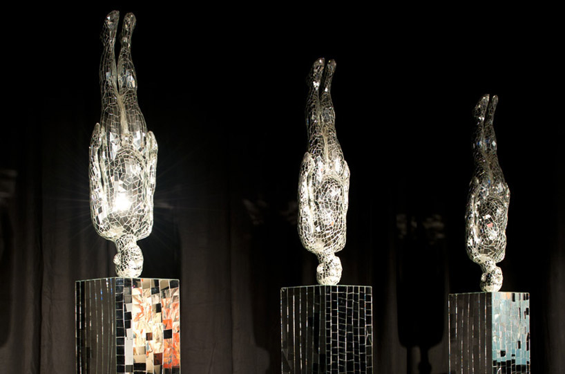 "Li Wei's ""Mirror's Hand"" sculptures"