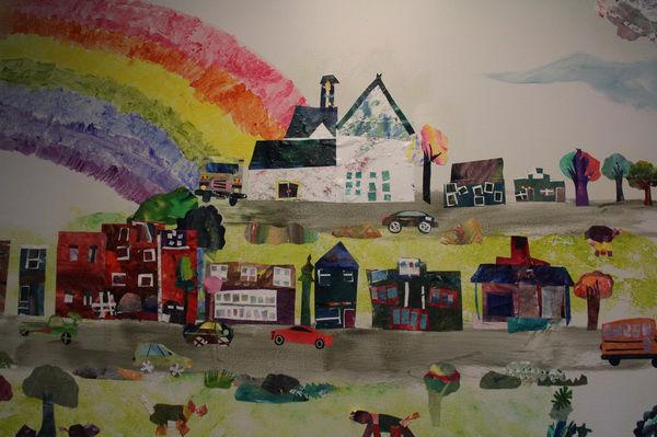 Willamette Primary school mural