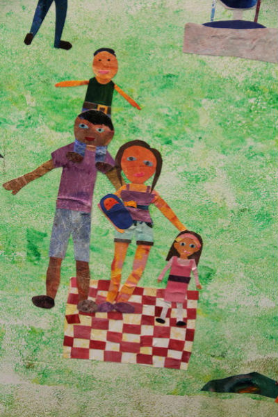 Willamette Primary mural, West Linn, Oregon