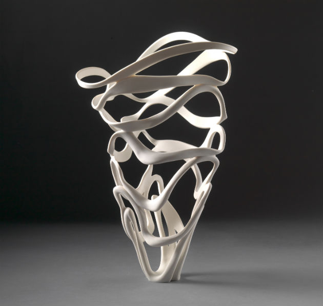 Jennifer McCurdy Ribbon Vessel