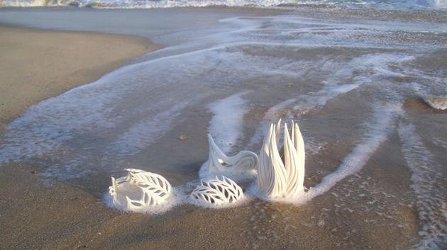 Jennifer McCurdy beach shot