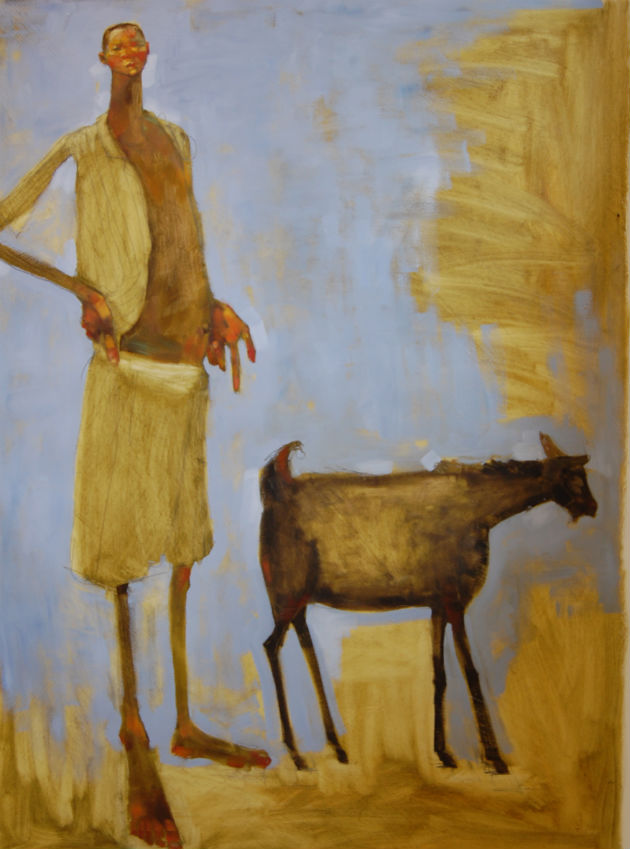 Olivia Pendergast (man with goat) 630