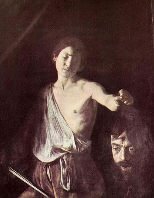 Caravaggio- Davide_ Galea (1607) - Kunsthistorische Muzeum Wien