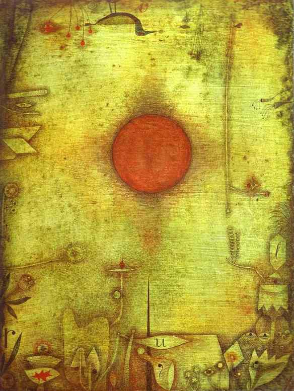 Ad Marginen, Paul Klee, (1930) - Kunstmuseum Basel