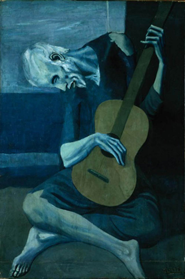 The Old Guitarist, Pablo Picasso