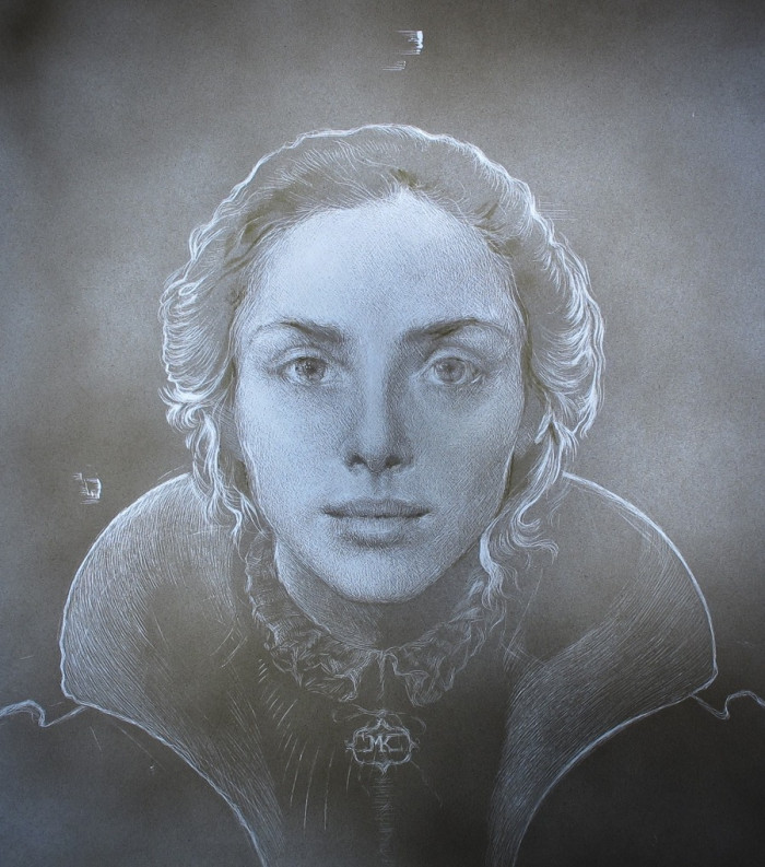 Young Queen | 13 x 13 | Maria Kreyn