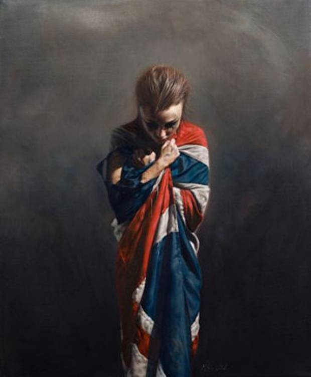 Flag Girl | Mitch Griffiths