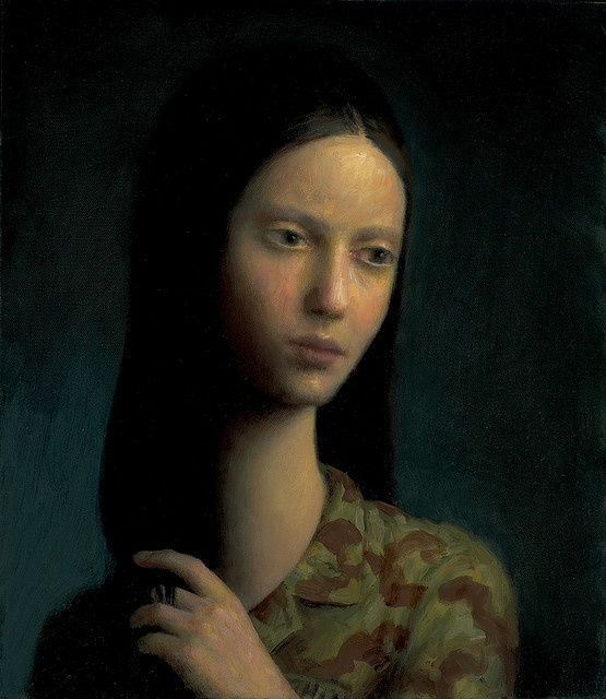 Soldier | oil on canvas | 16 x 12 inches | 2009 |Aron Wiesenfeld