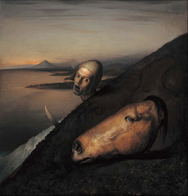 Man with a Horse's Head | Odd Nerdrum