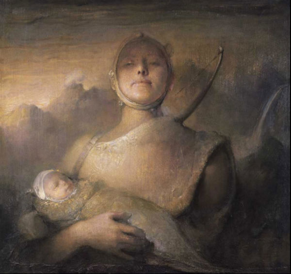 Volunteer | oil on canvas | Odd Nerdrum