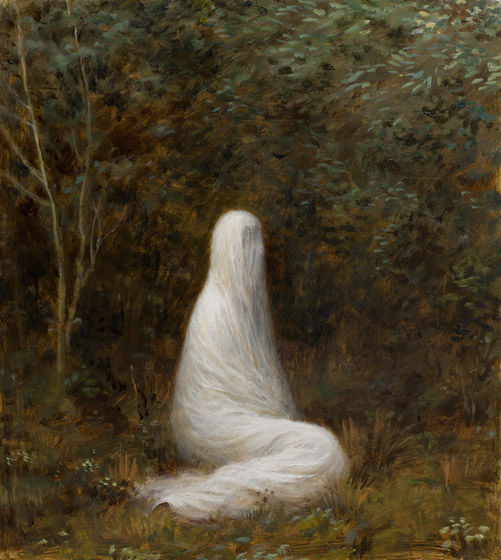 The Grove | oil on canvas | 14 x 12 | Aron Wiesenfeld
