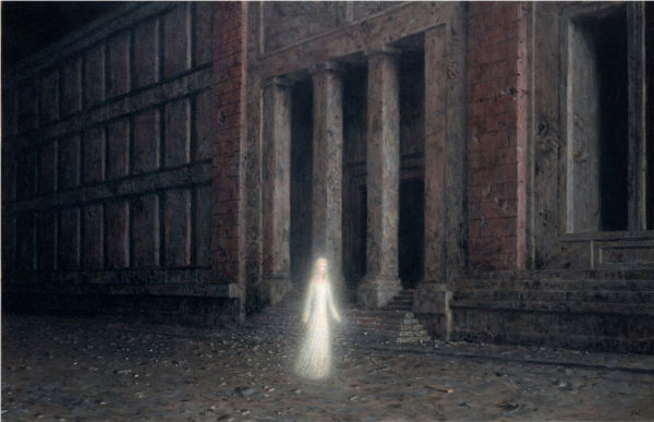 The Night | oil on canvas | 20 x 30 inches | 2011| Aron Wiesenfeld