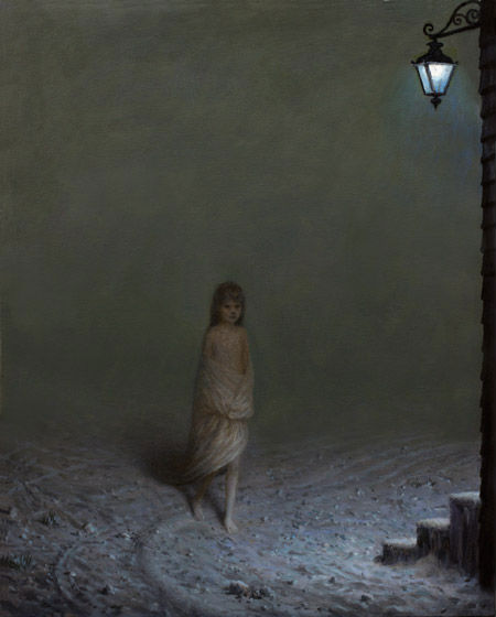 The Settlers | oil on canvas | Aron Wiesenfeld