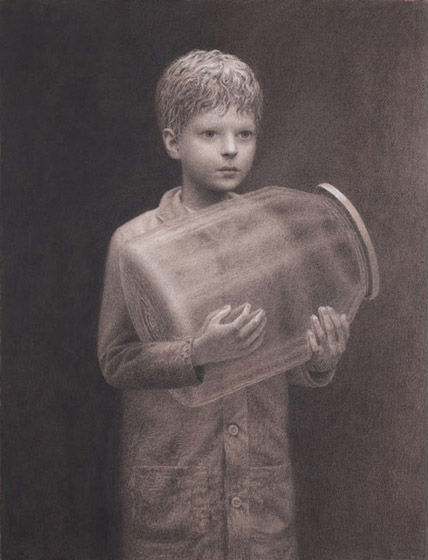 Thomas | charcoal on paper | Aron Wiesenfeld