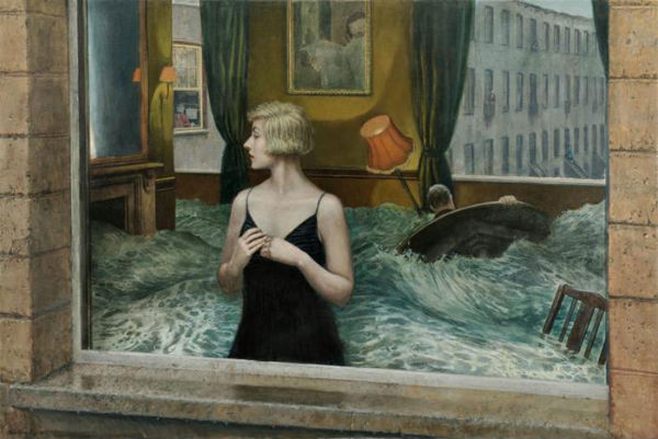 The Trouble with Time | oil on canvas | 122x183cm | 2008-9 | Mike Worrall