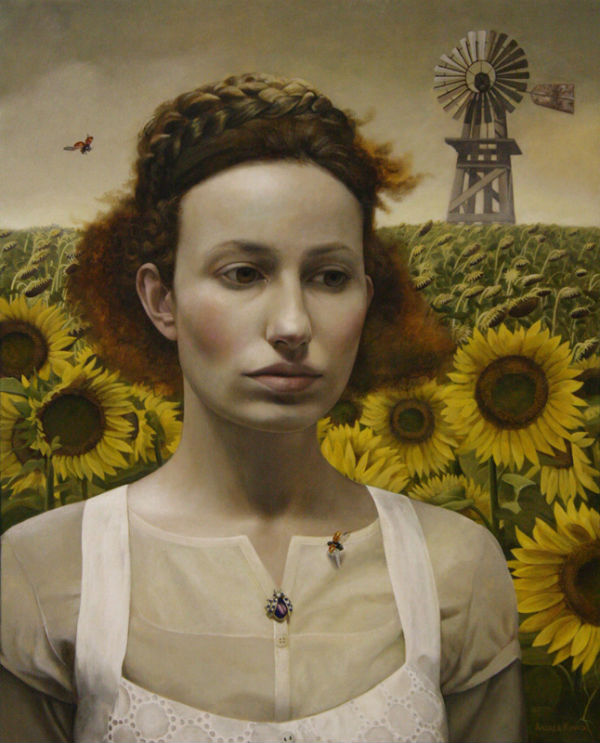Magic Realism Painter Andrea Kowch What The Wind Blew -1096