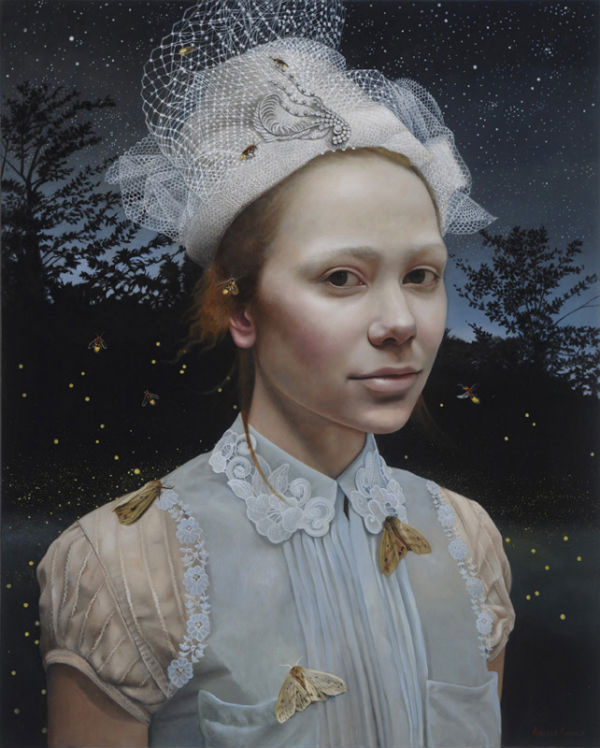 Nocturne | 30x24 | acrylic-on-canvas | Andrea Kowch
