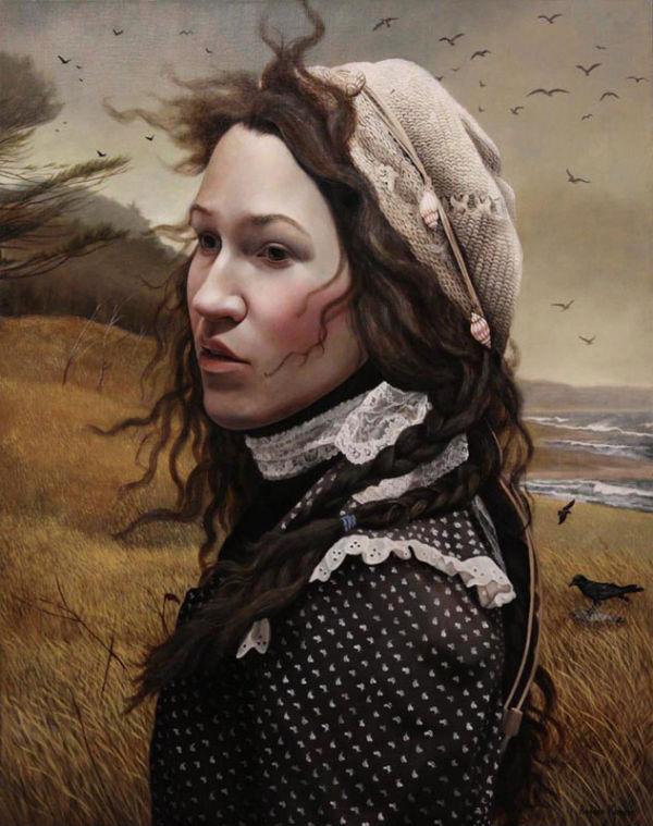 The Strand | 30x24 | acrylic-on-canvas | Andrea Kowch