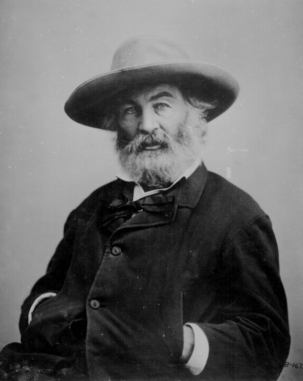 Poet Walk Whitman