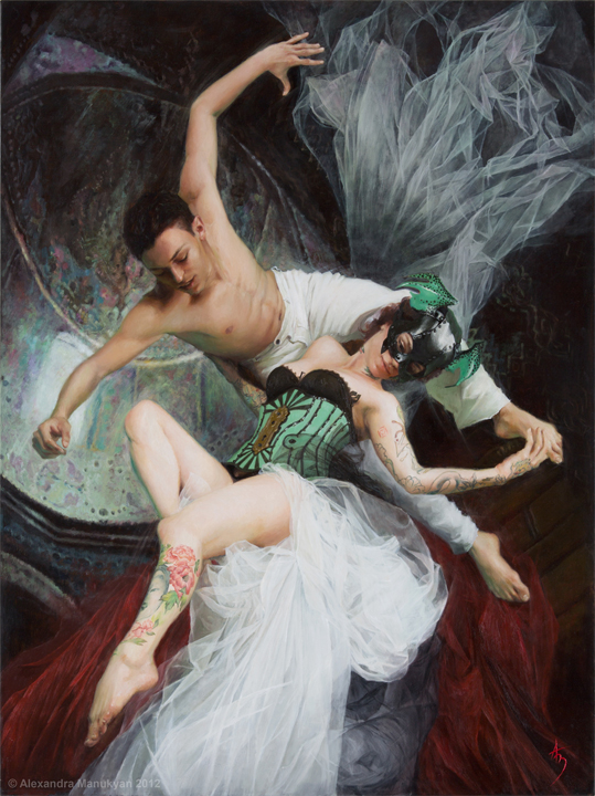 Requiem of Flight | Oil on Canvas | 2012 | Alexandra Manukyan