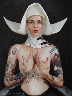"Sine Qua Non | oil on canvas | 18""x24"" 