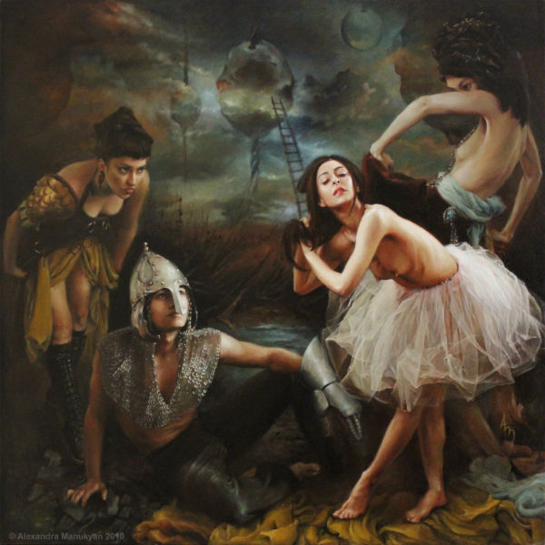 "Dream | 36""X36"" oil on canvas 