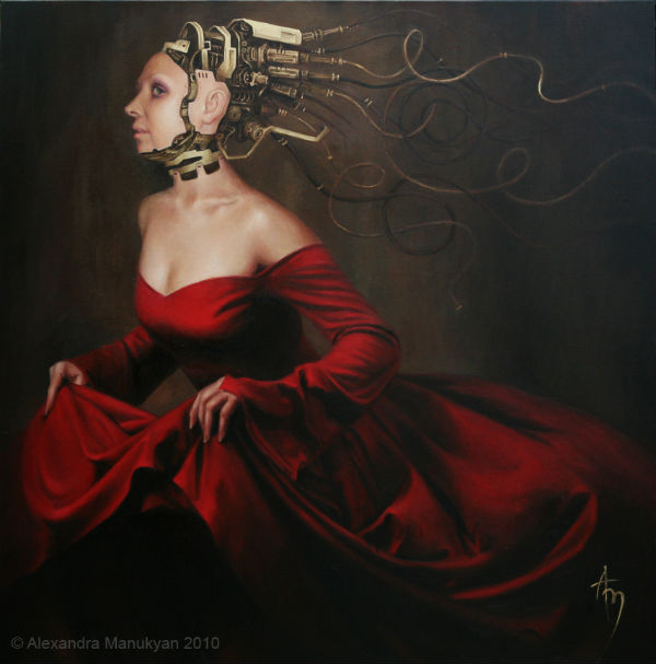 Escape | oil on canvas | 36x36 | Alexandra Manukyan