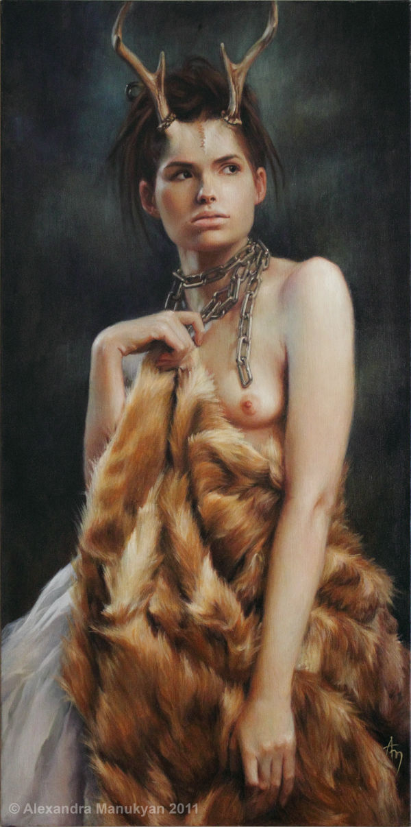 Fawn | Oil on Canvas | 2011 | Alexandra Manukyan