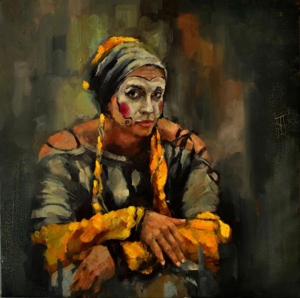 oil on canvas | 60x60 | Marwa Alnajjar