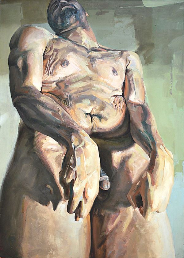 Loose, 2008, oil on canvas, 84 x 60 inches.