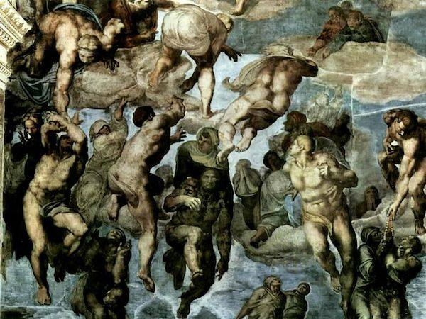 Last Judgement (detail) | Michelangelo | 1541