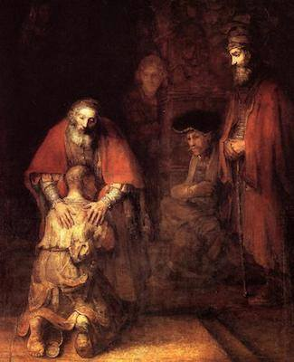 "The Return of the Prodigal Son | 81""X103"" 