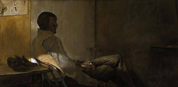 That Gentleman | Andrew Wyeth | Dallas Museum of Art