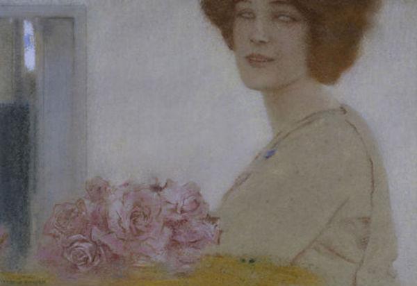 Rosen Khnopff | 1858-1921 | Fernand Khnopff