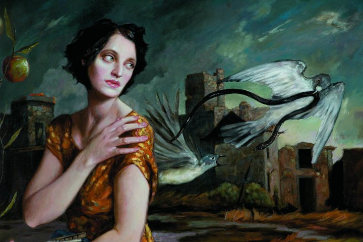 "Giver and Taker | Oil on linen | 54"" x 44"" 
