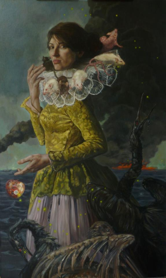 "The Raft of the Medusa | Oil on linen | 30"" x 50"" 