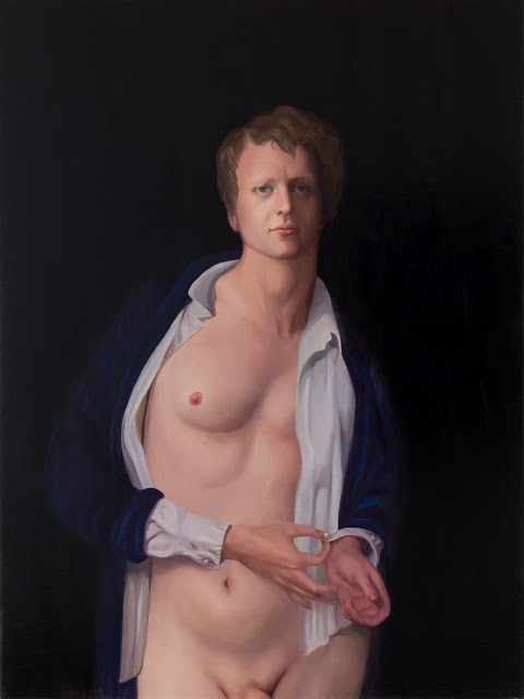 Groom | 2012 | Oil on Canvas | 48x36in. | Laura Krifka.)