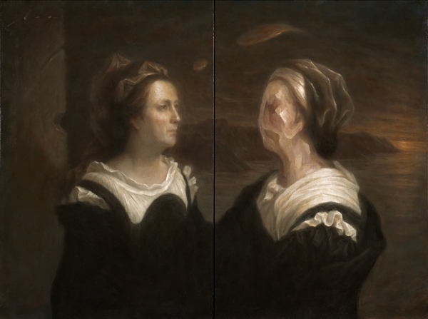 The Education | 40x30, Diptych | Vincent Xeus