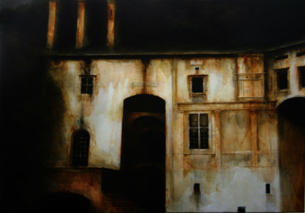 Sanitarium | 2008 | 48x36 | Maya Kulenovic