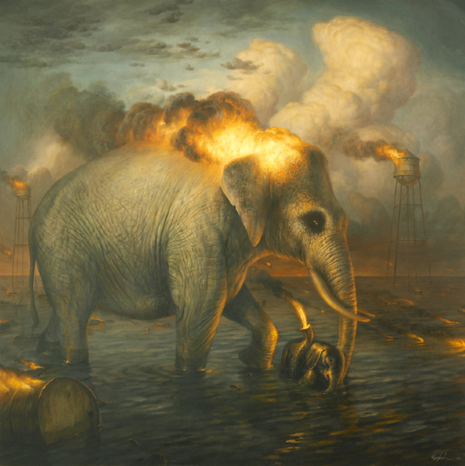 The Passions: Baptism | Martin Wittfooth