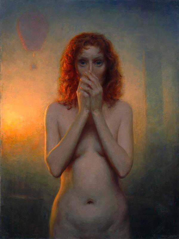 Speechless   Oil on linen   36x27   2012