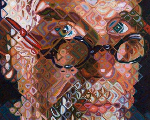 Self-portrait   2012   Chuck Close