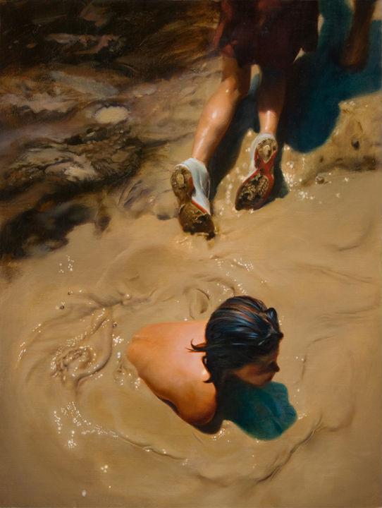 Gully Wash   24x18   Teresa Elliott