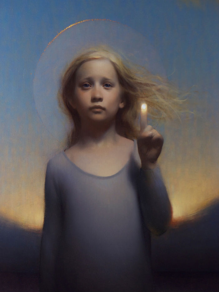 <em>When I Was Young</em>   Oil on Canvas   Stephen Bauman    2014